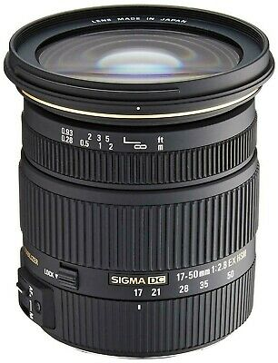 Sigma 17-50mm F2.8 EX DC HSM Lens for Sony A Mount (UK Stock) BNIB