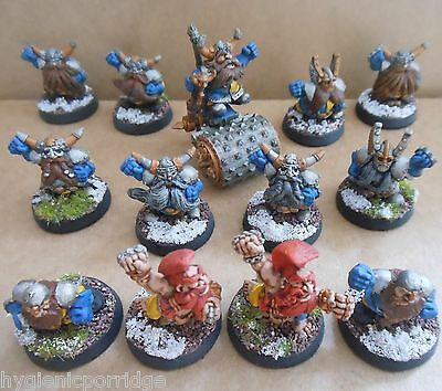 1994 Dwarf Bloodbowl 3rd Edition Citadel Pro Painted Football Team Grudgebearers