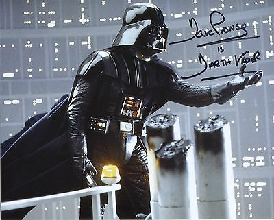 David Prowse Signed Star Wars Darth Vader Autographed Photo + FanExpo COA+PROOF
