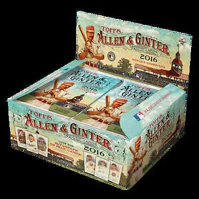 2016 Topps Allen and Ginter Baseball 24 Pack Box Factory Sealed