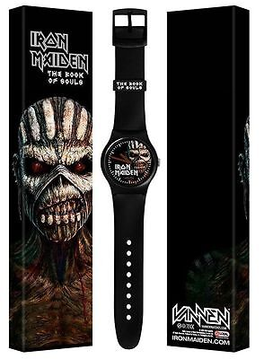Iron Maiden Vannen Book Of Souls Watch Limited Trooper New Only 250 Made