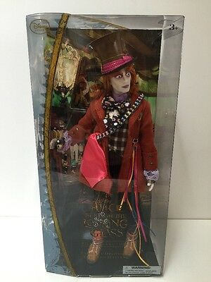 Alice Through The Looking Glass Mad Hatter Doll Disney Collection Nib