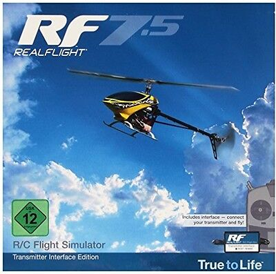 Great Planes RealFlight GPMZ4535 RealFlight 7.5 Interface Edition Toy