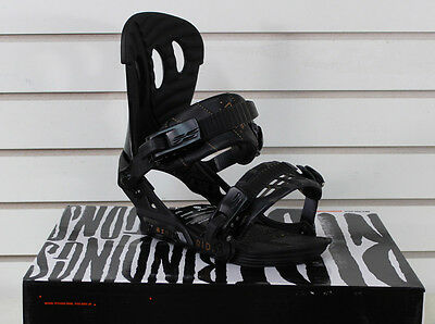 New 2015 Ride Vxn Womens Snowboard Bindings Small Black