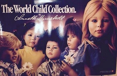 The World Child Collection Annette Himstedt1989 Mattel ExtremelyRare/Doll Poster