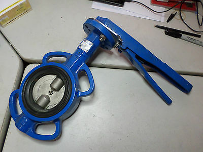 DURA BUTTERFLY VALVE DN80 - EDPM SEAT SS316 DISC -- TABLE E FLANGE -- Qty Avail