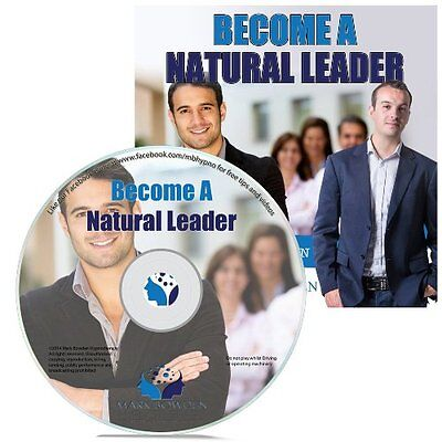 Become A Natural Leader Hypnosis CD + FREE MP3 VERSION achieve success