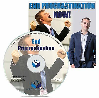 End Procrastination Hypnosis CD + FREE MP3 VERSION simplify your life