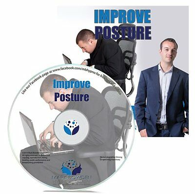 Improve Posture Hypnosis CD + FREE MP3 VERSION enhance your appearance