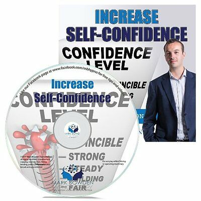 Increase Self Confidence Hypnosis CD + FREE MP3 VERSION bulid self esteem