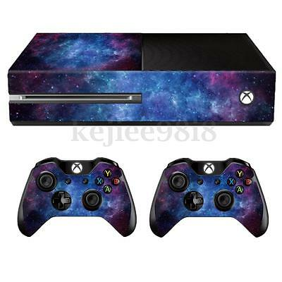 Nebula Skin Decal Sticker Cover Wrap For Microsoft Xbox One Console+2 Controller