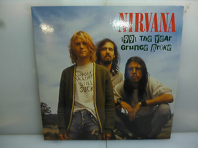 Nirvana-1991 The Year Grunge Broke. Ireland 1991.-Clear Vinyl Lp-New.sealed