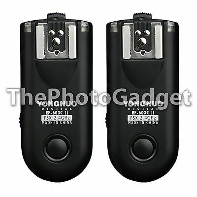 Yongnuo Improved RF-603 II Wireless Radio Flash Trigger Set for Nikon N3