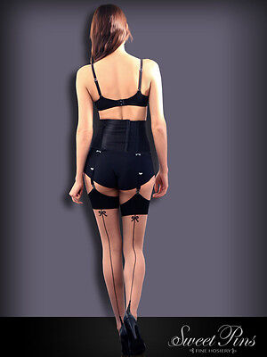 Sweet Pins Seamed Stockings All Sizes