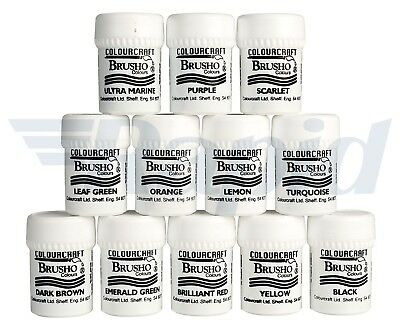 Colourcraft Brusho Pack of 12