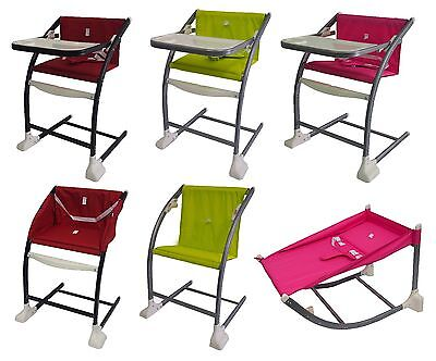 Bebe Style 'MeGrow' 4 IN 1 Baby Highchair+Rocker+Modern Childs/Kids/Adult Chair!
