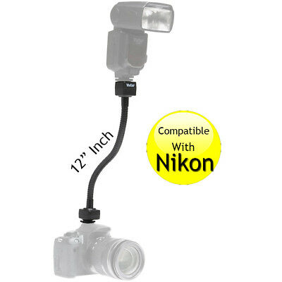 "Flexible 12"" i-TTL Flash Shoe Cord  for Nikon SB-600 SB-800 SB-900 D5300 D5500"