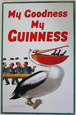 My Goodness-My Guiness Metal Sign