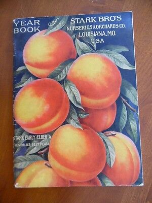 1914 Stark Brothers Nurseries Orchards Catalog Garden Fruit Trees Louisiana MO