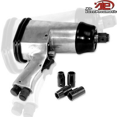 "New 1/2"" Drive Pneumatic Air Impact Wrench Reversible"