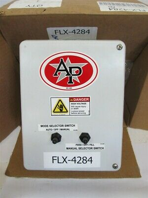 Automated Production Systems FLX-4284 Time Clock and Selector Switch Control Box
