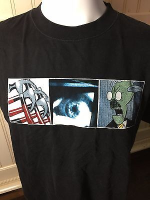 Roger Waters 3 Images In The Flesh 1999 Tour Blk T-Shirt Large New Pink Floyd