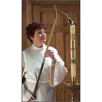 """36"""" Candle lighter with Bell Snuffer"""