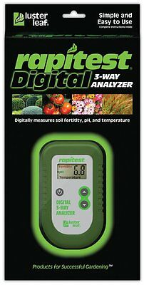 Luster Leaf 1835 Digital 3-Way Soil Analyzer
