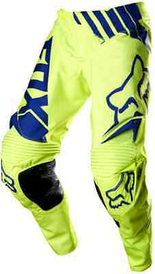 FOX 360 LE PANTS MOTOCROSS PANTS #34 NEW RRP$229 yellow Off road Motorcross Dirt