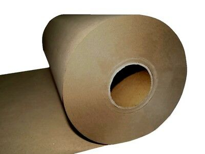 NEW KRAFT BROWN PACKAGING PAPER ROLL 900mm x 300m 80GSM Packing Wrapping Craft