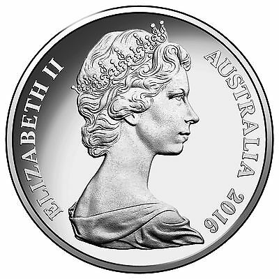 Australia 2016 20 Cents Uncirculated Frosted Young Queen