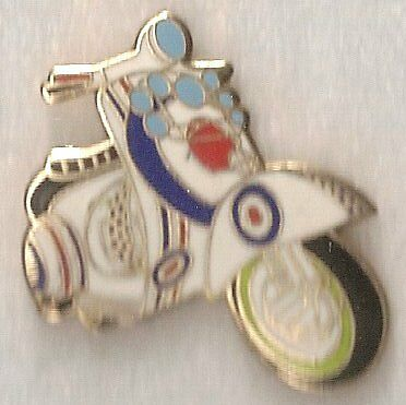 SCOOTER MODS BADGE 30mm x 25mm