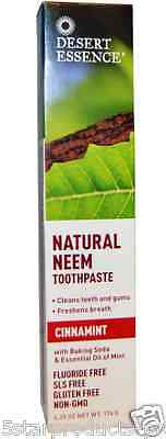 New Desert Essence Natural Neem Toothpaste Teeth Care Dental Care Gums Care
