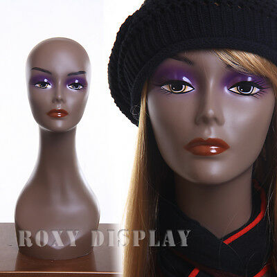 Free Shipping Fiberglass Mannequin Head Bust Wig Hat Jewelry Display #MZ-NO.13