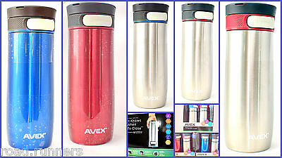 Avex Travel Flasks Vacuum-insulated Autoseal Lock Stainless Steel NEW FOR 2016
