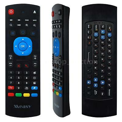 2.4G Wireless Keyboard Gyro Fly Air Mouse IR Remote Control for PC Smart TV X9N3
