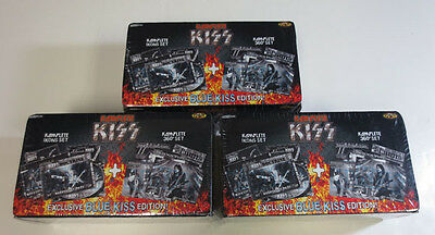 (3) Kiss 2009 Press Pass Complete Komplete Factory Set (180 Card) Icons 360° Set