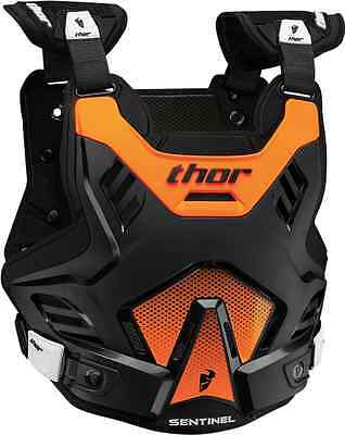 2017 Youth Thor Mx Black Orange Sentinel Gp Chest Back Protector Level 1 Dirt Sx