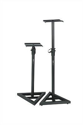 Gator Frameworks Studio Monitor Stands - Adjustable 787-1346mm Height - Pair