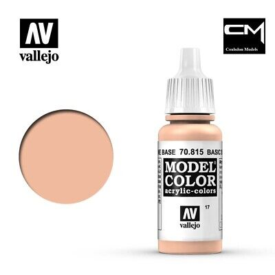 Vallejo Model Color Basic Skintone 70.815 (17) - 17ml Acrylic Paint
