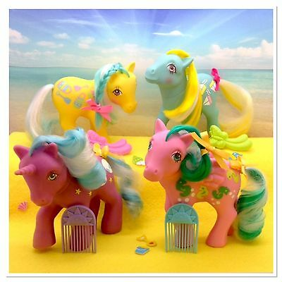 ⭐️ My Little Pony ⭐️ (MULTI LISTING) G1 Sunshine Ponies w/orig Accessories!