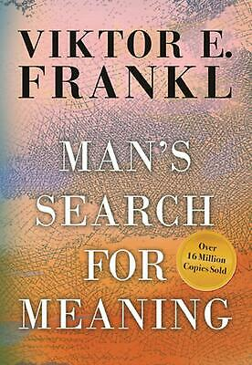 Man's Search for Meaning, Gift Edition by Viktor E. Frankl (English) Hardcover B