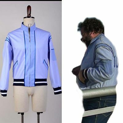 Crime Busters Bud Spencer Wilbur Walsh Cosplay Costume Uniform Jumbo Coat Jacket