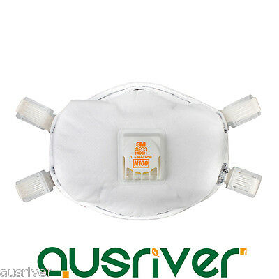 3M 8233 N100 Particulate Respirator Dust Heavy Metal PM2.5 Haze Protective Mask