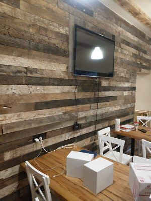 Reclaimed Timber Cladding - Oak/Pine | Old Wood, Feature Wall, Barn Doors | 1m2