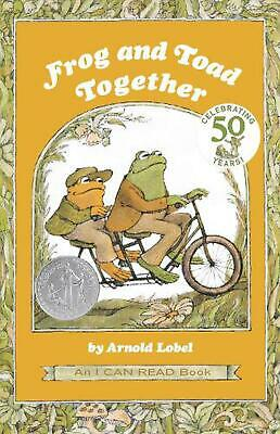 Frog and Toad Together by Arnold Lobel (English) Paperback Book Free Shipping!