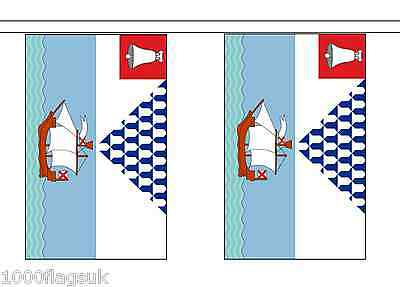 Northern Ireland Belfast City Polyester Flag Bunting - 5m with 14 Flags