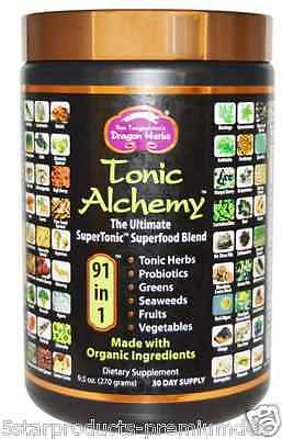New Dragon Herbs Tonic Alchemy Herbal Extract Organic Superfood Daily Supplement