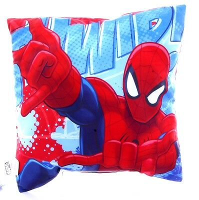 New Official Childrens Ultimate Spiderman Double Sided Cushion Pillow