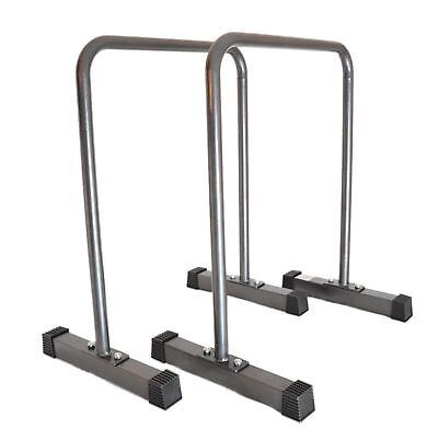 Meingesundheitshaus High Parallettes, Push Up Bars, Dip Station